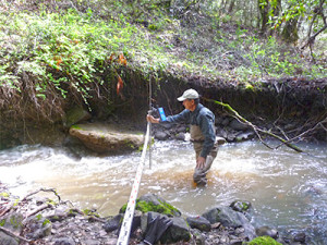 Citizen-Science-Stream-Flow-Monitoring